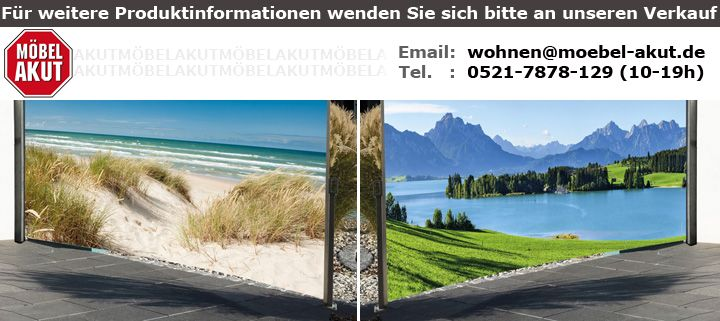 seitenmarkise mit strand d ne meer fotodruck sichtschutz links 1 6x3 m. Black Bedroom Furniture Sets. Home Design Ideas