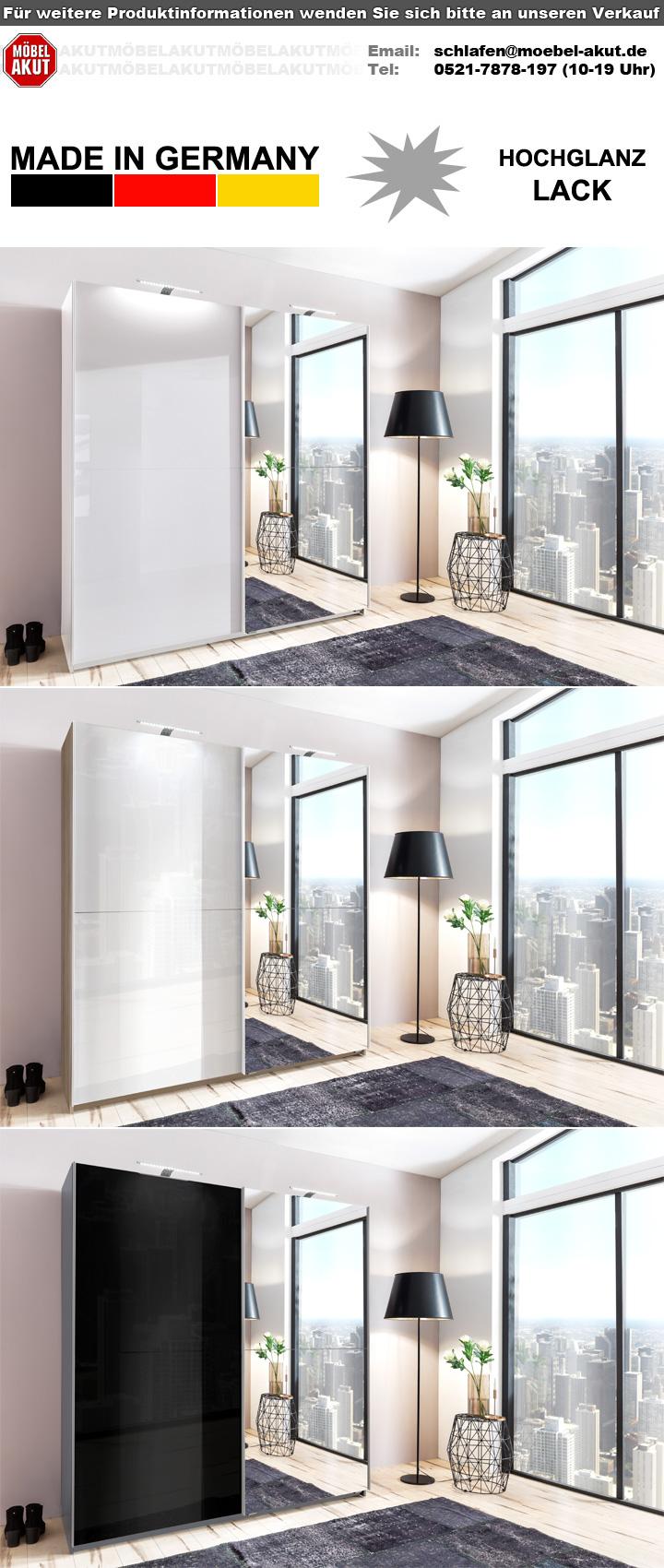 schwebet renschrank meissen schrank in wei hochglanz lack spiegel 180. Black Bedroom Furniture Sets. Home Design Ideas